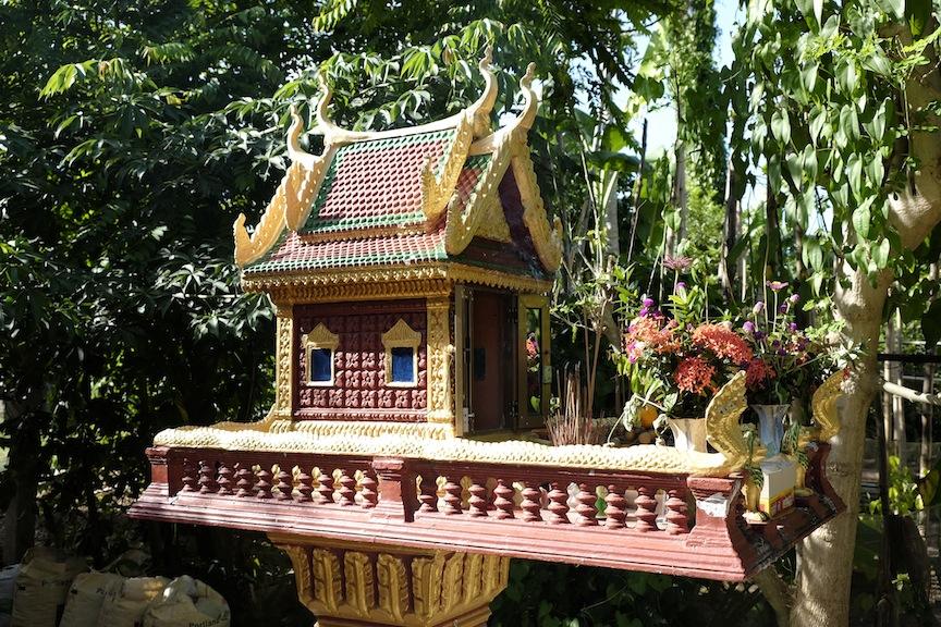 Ancestor shrine, Kampong Phnom village, Neak Leoung 1_DSF7371.JPG